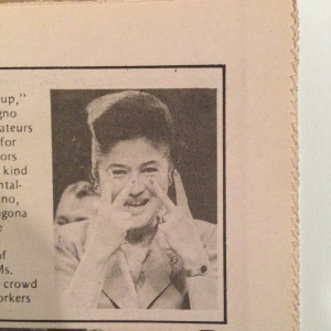 Imelda Marcos in a regime publication