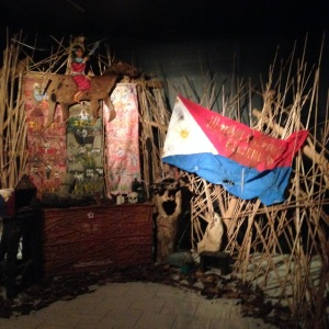 An installation piece by Santiago Bose reconstructed by Kawayan De Guia