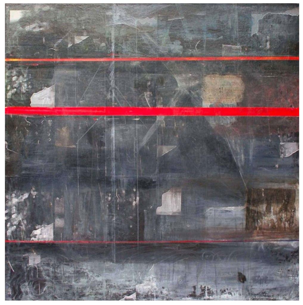 Intramuros, oil on canvas, 48 x 48 in, 2009