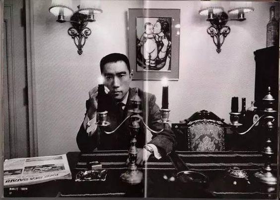 Yukio Mishima, photographed by Kishin Shinoyama