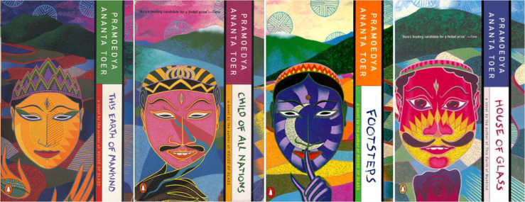 """The Buru Quartet"" by Penguin Books (1990)"