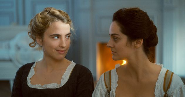 Céline Sciamma portrays the encounter between two young women, a painter (Noémie Merlant) and her model (Adèle Haenel), in 18th century Brittany.