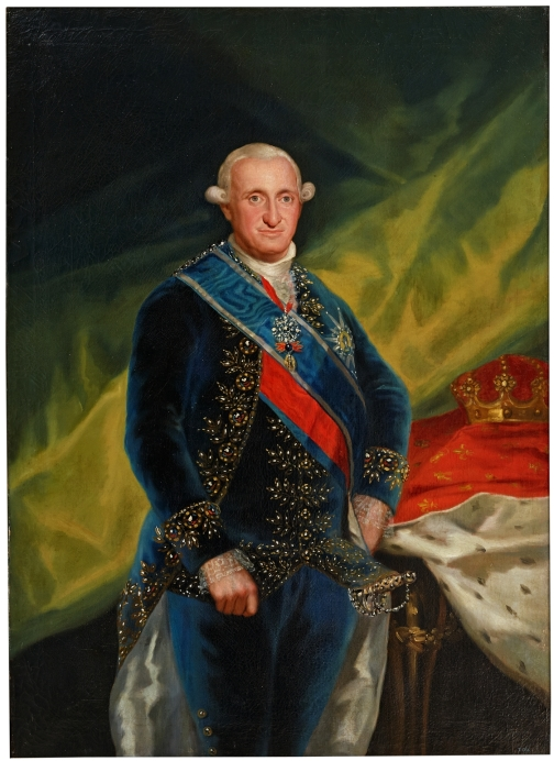 Portrait of King Charles IV